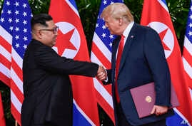 Trump Kim Summit Day in Photos