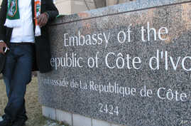 Foreign embassies have become proxy battlegrounds for the two rival presidents in Ivory Coast.