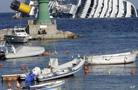 3 Dead, Dozens Missing in Cruise Liner Wreck in Italy
