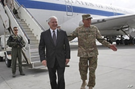 Karzai Stresses End to Civilian Casualties During Gates' Farewell Afghan Tour