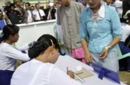 Burma Bars Foreign Observers, Journalists From Elections