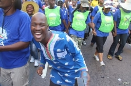 Democratic Alliance march and rally in Durban, South Africa, April 2014. (Photo courtesy DA)