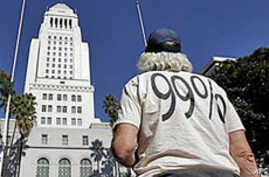 LA Protesters Blast Income Gap
