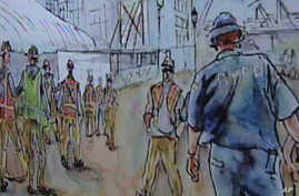 Aggie Kenny's drawings, watercolors of post-September 11 cleanup on view in New York