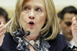 Clinton: Libyan Rebels Oppose Outside Intervention