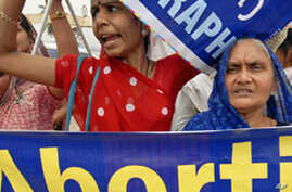 Researchers: Indians Increasingly Use Abortion to Ensure Male Child