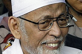 Prosecution Makes Its Case in Indonesian Cleric's Terrorism Trial