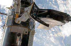 The installation of Hubble's new Wide Field Camera 3 in 20