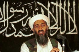 In this 1998 file photo made available on March 19, 2004, Osama bin Laden is seen at a news conference in Afghanistan. Bin Laden, was on the FBI's Ten Most Wanted Fugitives list before the terrorist attacks of 9/11, put there for his role in the 1998...