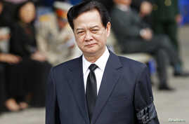 Vietnam's Prime Minister Nguyen Tan Dung