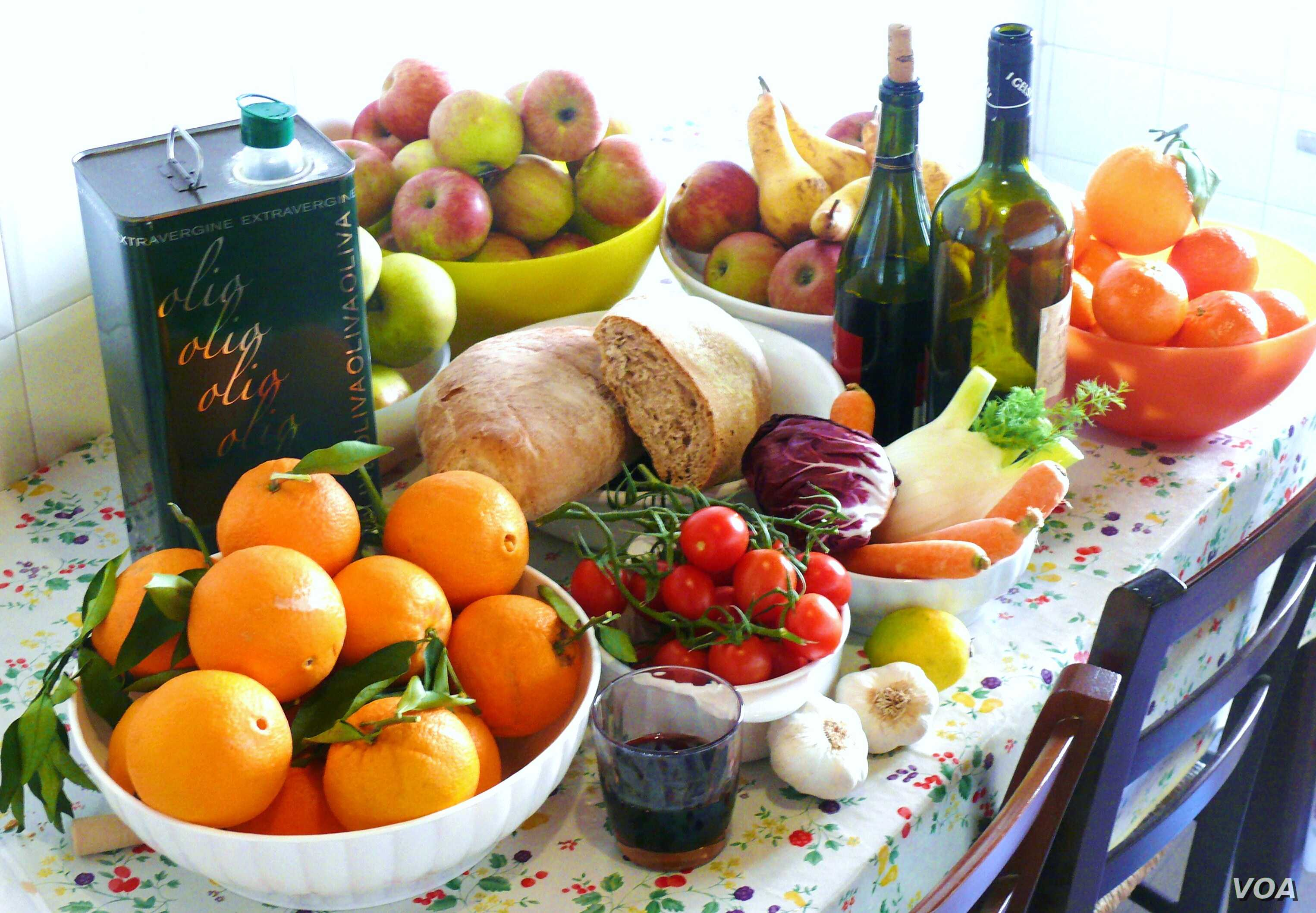 A new study suggests that fat as a part of a Mediterranean diet can be healthy.