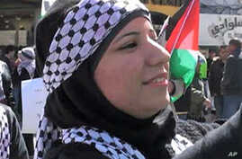 Palestinian Demonstrators Launch Peaceful Call for Unity