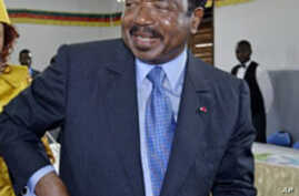 Cameroon's Long-Time Leader Likely to Win Re-Election Sunday