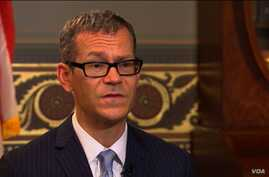Colin Kahl, the National Security Advisor for Vice President Joe Biden, speaks with VOA Persian.