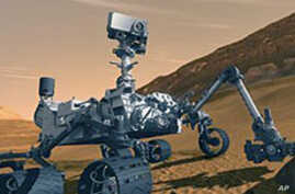 Curiosity Rover Bound for Mars' Gale Crater