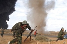 Despite Government Strikes, Rebel-Held Areas Hold On in Libya