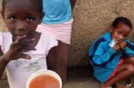 Study Finds Many South African Children Going Hungry