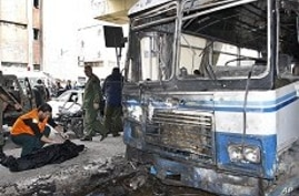 Suicide Blast Rocks Syrian Capital