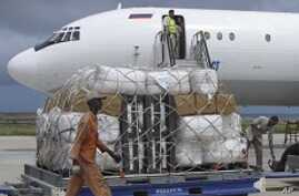 UNHCR Humanitarian Airlift Arrives in Mogadishu