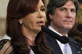 Argentina's President Sworn In for Second Term