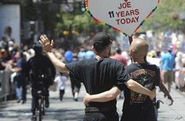 Gay Marriage Fight Sparks US Debate Over Meaning of Marriage