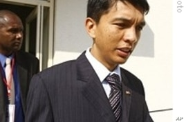 Madagascar's President Andre Rajoelina announced he will not participate in the November 26 president election.