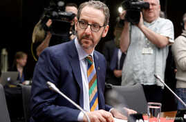 Gerald Butts, who quit last month as Canadian Prime Minister Justin Trudeau's chief aide, arrives to testify to the House of Commons justice committee, in Ottawa, Ontario, Canada, March 6, 2019.