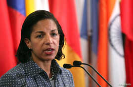 U.S. ambassador to the United Nations Susan Rice. (File)