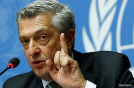 U.N. High Commissioner for Refugees Filippo Grandi