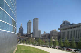 Smaller, less expensive sites like Tulsa, Oklahoma - population 400,000 - book conventions many weeks of the year. (KB35, Flickr Creative Commons)