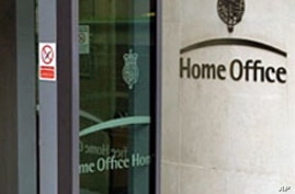 The British Home Office in London  (File)