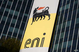 The headquarter of the Italian oil and gas company Eni is seen in San Donato Milanese, near Milan, Italy, Oct. 27, 2017.