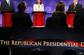 Republican Candidates Decry Intervention in Debt Crises Abroad
