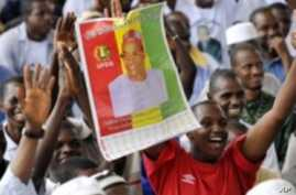 Guinea's Political Parties Debate Deposit to Run in Next Month's Presidential Poll