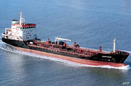 French Sea-Tankers group shows the tanker ship Gascogne which has been hijacked off Ivory Coast, port authority officials in the economic capital Abidjan confirmed on February 4, 2013.