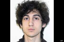 FILE - This file photo provided Friday, April 19, 2013 by the Federal Bureau of Investigation shows Boston Marathon bombing suspect Dzhokhar Tsarnaev.