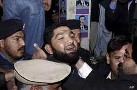 Demonstrators Prevent Court Appearance of Alleged Pakistani Assassin