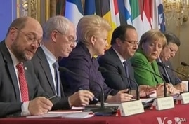 French President Francois Hollande hosted a Youth Unemployment Summit in Paris on Tuesday, Nov. 12, 2013.