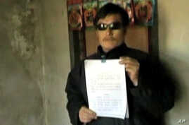 Chinese activist Chen Guangcheng (file photo)