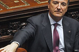 Italy's Foreign Minister Calls for End to Hostilities in Libya