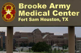 Brooke Army Medical Center is shown June 12, 2014, in San Antonio, Texas, where Sgt. Bowe Bergdahl had been recovering.