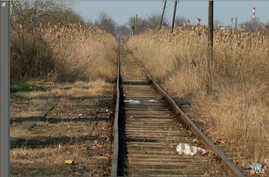 Many Migrants, refugees and asylum seekers follow railroad tracks when they reach the Balkan countries because they lead to towns and cities. Amnesty International says at least 30 have been killed by passing trains over recent months.  (Credit: Amne