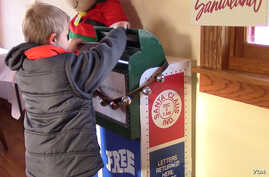 No matter how they're addressed, nearly 25,000 letters arrive in Santa Claus for Santa Claus each year.