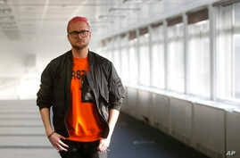 Christopher Wylie who alleges that the campaign for Britain to leave the EU cheated in the referendum in 2016, is seen after speaking at a lawyers office to the media in London, March 26, 2018.
