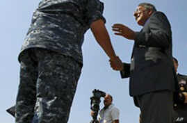 Panetta Praises Libya Campaign, Thanks Troops