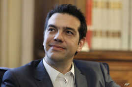 Greek leader of Coalition of the Radical Left party (SYRIZA) Alexis Tsipras (File Photo)