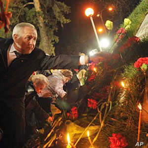 Ukraine Remembers Chernobyl Victims