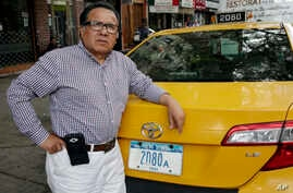 Taxi driver and taxi medallion owner Marcelino Hervias is one of the cab owners and investors who paid as much as $1.3 million for a medallion. Now they are worth less than half that amount.