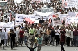 In Yemen, Thousands Demand Saleh's Family Vacate Key Posts