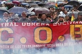 Thousands Protest in Bolivia Over Rising Prices